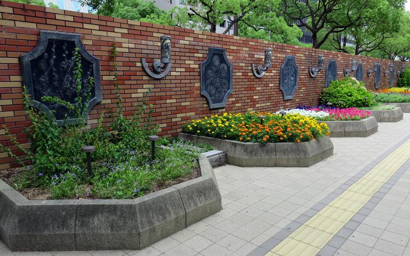 区の花花壇