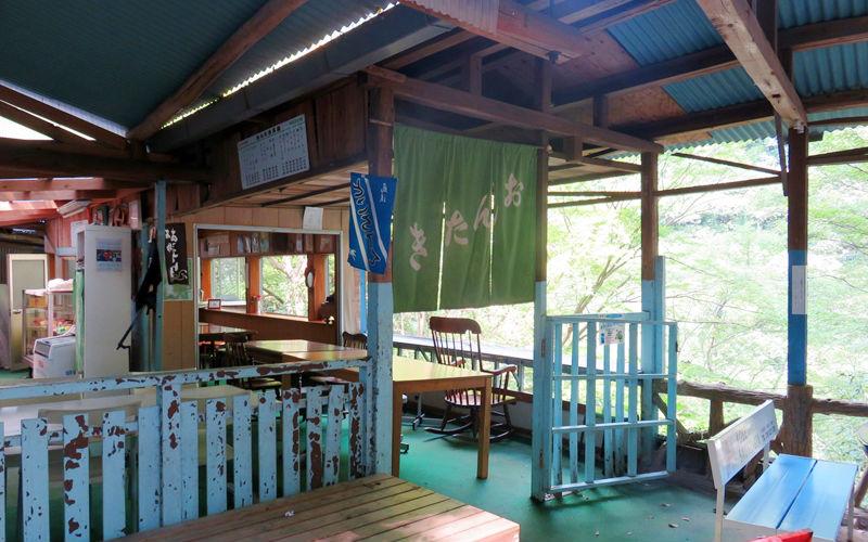 おんたき茶屋の入口